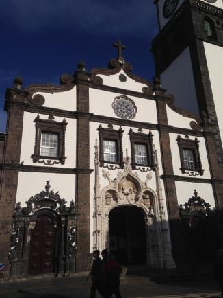 City gate, Ponta Delgada, Azores, Portugal